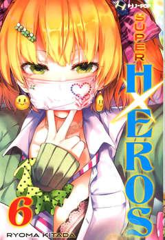 Copertina SUPER HXEROS n.6 - SUPER HXEROS, JPOP