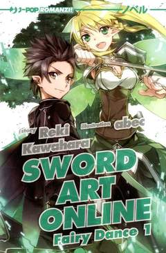 Copertina SWORD ART ONLINE NOVEL n.3 - FAIRY DANCE 1, JPOP