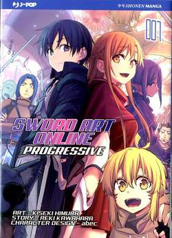 Copertina SWORD ART ONLINE PROGRESSIVE n.7 - SWORD ART ONLINE PROGRESSIVE, JPOP