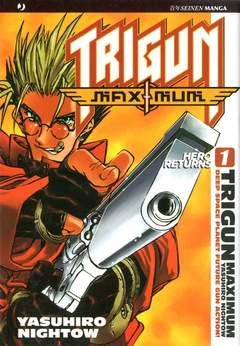 Copertina TRIGUN MAXIMUM n.1 - TRIGUN MAXIMUM, JPOP