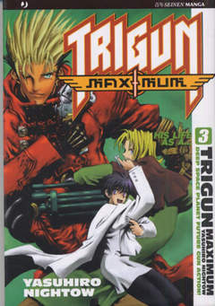 Copertina TRIGUN MAXIMUM n.3 - TRIGUN MAXIMUM, JPOP