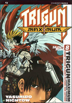 Copertina TRIGUN MAXIMUM n.8 - TRIGUN MAXIMUM, JPOP