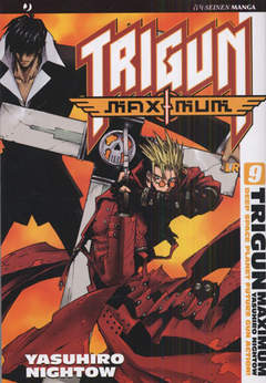 Copertina TRIGUN MAXIMUM n.9 - TRIGUN MAXIMUM, JPOP