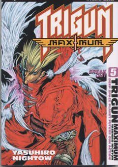 Copertina TRIGUN MAXIMUM n.5 - TRIGUN MAXIMUM               , JPOP
