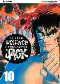 Copertina VIOLENCE JACK (m18) n.10 - VIOLENCE JACK, JPOP