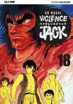 Copertina VIOLENCE JACK (m18) n.18 - VIOLENCE JACK, JPOP