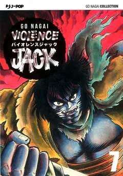 Copertina VIOLENCE JACK (m18) n.7 - VIOLENCE JACK, JPOP