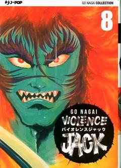 Copertina VIOLENCE JACK (m18) n.8 - VIOLENCE JACK, JPOP