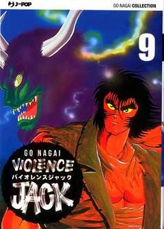 Copertina VIOLENCE JACK (m18) n.9 - VIOLENCE JACK, JPOP
