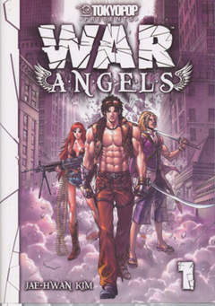 Copertina WAR ANGELS n.1 - WAR ANGELS 1, JPOP
