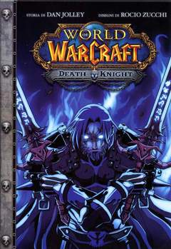 Copertina WARCRAFT DEATH KNIGHT n. - WARCRAFT: DEATH KNIGHT, JPOP