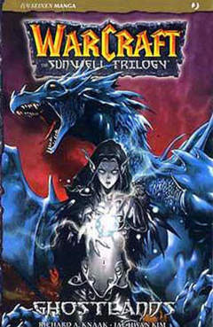 Copertina WARCRAFT SUNWELL TRILOGY n.3 - WARCRAFT SUNWELL TRILOGY, JPOP