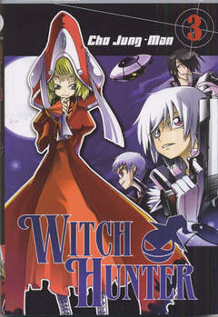 Copertina WITCH HUNTER n.3 - WITCH HUNTER, JPOP