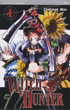 Copertina WITCH HUNTER n.4 - WITCH HUNTER, JPOP
