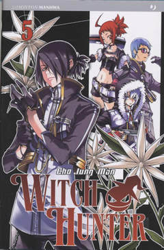 Copertina WITCH HUNTER n.5 - WITCH HUNTER                , JPOP