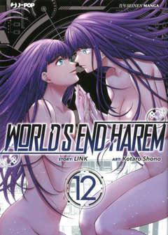 Copertina WORLD'S END HAREM n.12 - WORLD'S END HAREM, JPOP