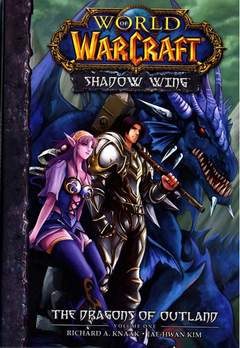 Copertina WORLD WARCRAFT DRAGONS OUTLAND n.1 - SHADOW WING, JPOP