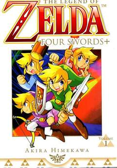 Copertina ZELDA FOUR SWORDS n.1 - ZELDA FOUR SWORDS, JPOP