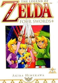 Copertina ZELDA FOUR SWORDS n.2 - ZELDA FOUR SWORDS, JPOP