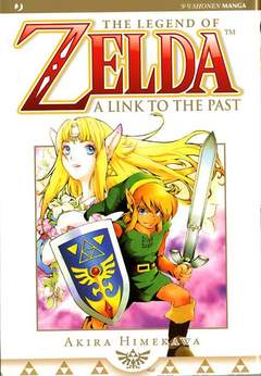 Copertina ZELDA A LINK TO THE PAST n. - ZELDA COLLECTION 3, JPOP