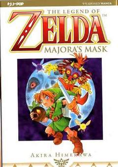 Copertina ZELDA MAJORA'S MASK n. - ZELDA COLLECTION 6, JPOP