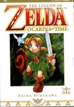 Copertina ZELDA OCARINA OF TIME n.1 - ZELDA OCARINA OF TIME, JPOP