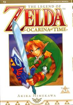 Copertina ZELDA OCARINA OF TIME n.2 - ZELDA OCARINA OF TIME, JPOP