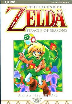 Copertina ZELDA ORACLE OF SEASON n. - ZELDA COLLECTION 7, JPOP