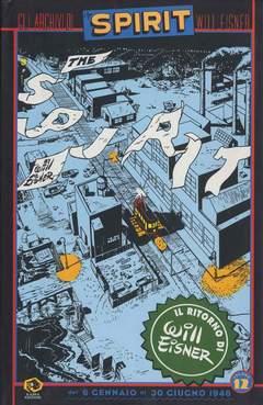 Copertina Collezione Will Eisner n.12 - GLI ARCHIVI DI SPIRIT, KAPPA EDIZIONI