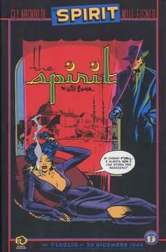 Copertina Collezione Will Eisner n.13 - GLI ARCHIVI DI SPIRIT, KAPPA EDIZIONI