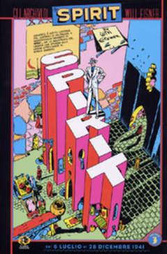 Copertina Collezione Will Eisner n.3 - GLI ARCHIVI DI SPIRIT, KAPPA EDIZIONI