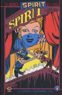 Copertina Collezione Will Eisner n.5 - GLI ARCHIVI DI SPIRIT, KAPPA EDIZIONI
