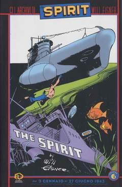 Copertina Collezione Will Eisner n.6 - GLI ARCHIVI DI SPIRIT, KAPPA EDIZIONI