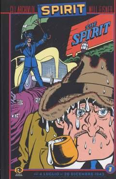 Copertina Collezione Will Eisner n.7 - GLI ARCHIVI DI SPIRIT, KAPPA EDIZIONI