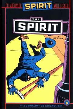 Copertina Collezione Will Eisner n.8 - GLI ARCHIVI DI SPIRIT, KAPPA EDIZIONI