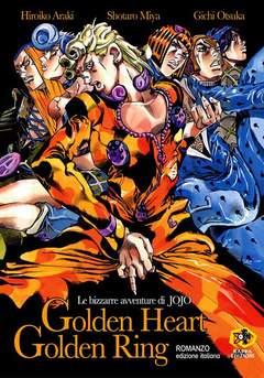 Copertina Mangazine n. - LE BIZZARRE AVVENTURE DI JOJO - GOLDEN HEART GOLDEN RING, KAPPA EDIZIONI