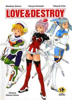 Copertina Mangazine n. - LOVE & DESTROY, KAPPA EDIZIONI