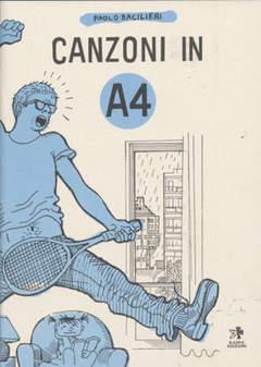 Copertina Mondo Naif Graphic Novel n. - CANZONI IN A4, KAPPA EDIZIONI