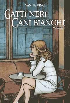 Copertina Mondo Naif Graphic Novel n.1 - GATTI NERI CANI BIANCHI - REMINISCENZE PARIGINE, KAPPA EDIZIONI