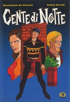 Copertina Mondo Naif Graphic Novel n. - GENTE DI NOTTE, KAPPA EDIZIONI