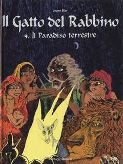 Copertina Mondo Naif Graphic Novel n.4 - IL GATTO DEL RABBINO - IL PARADISO TERRESTRE, KAPPA EDIZIONI