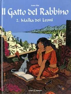 Copertina Mondo Naif Graphic Novel n.2 - IL GATTO DEL RABBINO - MALKA DEI LEONI, KAPPA EDIZIONI