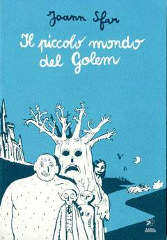 Copertina Mondo Naif Graphic Novel n. - IL PICCOLO MONDO DEL GOLEM, KAPPA EDIZIONI