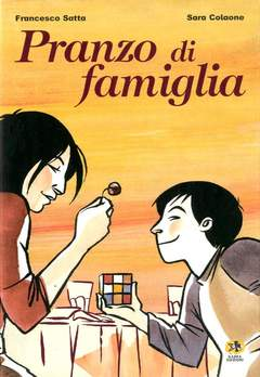 Copertina Mondo Naif Graphic Novel n. - PRANZO DI FAMIGLIA, KAPPA EDIZIONI
