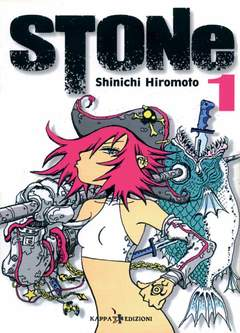Copertina Ronin Manga n.1 - STONE, KAPPA EDIZIONI