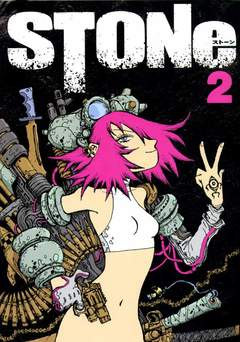 Copertina Ronin Manga n.2 - STONE, KAPPA EDIZIONI