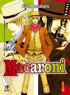 Copertina Shonen Ai / Boys Love / Yaoi n.1 - MACARONI, KAPPA EDIZIONI