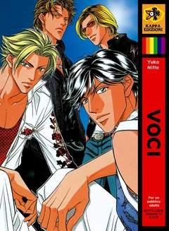 Copertina Shonen Ai / Boys Love / Yaoi n.1 - VOCI, KAPPA EDIZIONI