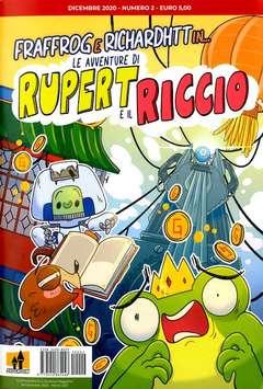 Copertina AVVENTURE DI RUPERT... n.2 - LE AVVENTURE DI RUPERT IL RICCIO, KASAOBAKE