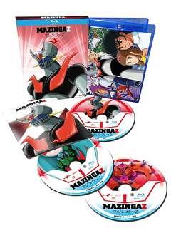 Copertina Animazione giapponese n.2 - Mazinga Z #01 (3 Blu-Ray), KOCH MEDIA